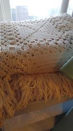 Exquisite handmade bedspreads