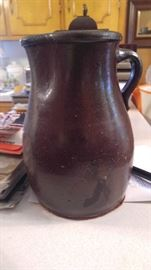 Primitive jug town southern pottery picture from Aunt Margaret Holloway