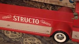 Structo fire truck