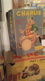 battery operated vintage toys in box