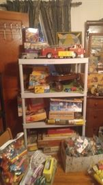 Texaco fire truck vintage metal cars hubley cars & more