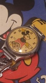 1933 vintage Ingersoll Mickey Mouse watch in box