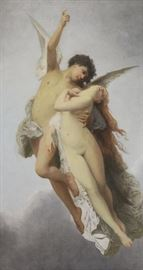 After Bouguereauthth C Oil on Canvas Cupid