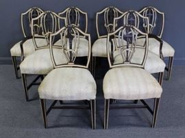 Adams Style Shield Back Chairs