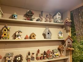 massive bird house collection