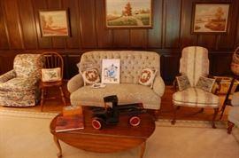 Henredon Furniture & Buddy L truck