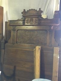 Gorgeous tall head victorian bed! two to choose from!
