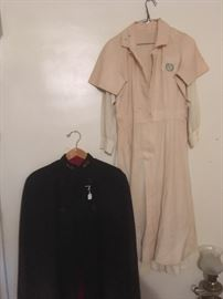 Antique Nurses Cape & Uniforms.