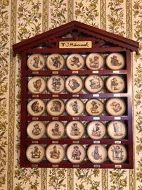 M.J. Hummel small collector plates