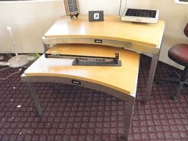 Commercial Ashworth 5' nesting table set.  Was a pro shop display **********$60 / pair **********  Call Now for immediate appointment  (760) 788-0775    (760) 445-8571