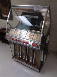Functional seeburg jukebox!
