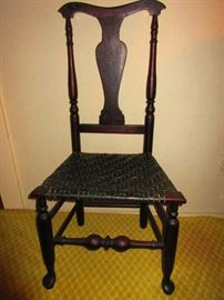 Queen Anne Side Chair, First Quarter of the 18th c.