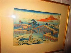 Japanese Block Print, 19th c.