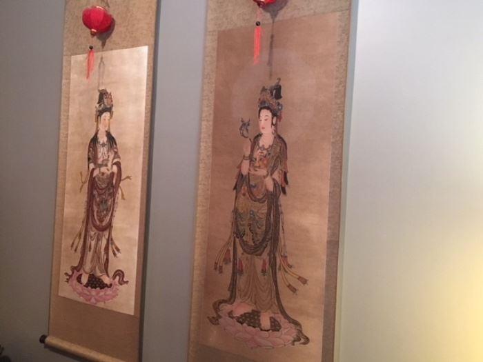 oriental scrolls