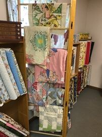 Vintage unfinished quilts