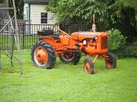 "Vintage Massey ""B"" Tractor"