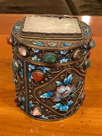 Antique Chinese Tea Caddy
