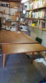 "Beautiful Teak Mid Century great vintage condition expandable to approx 8.5"" 500.00"