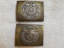 WWII German Belt Buckles