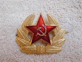 Soviet Hammer & Sickle Badge