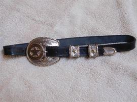 Texas Rangers Belt & Buckle
