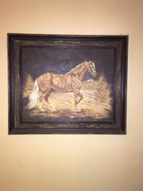 Paso Fino horse painting