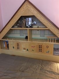 Doll House headboard for full sized bed