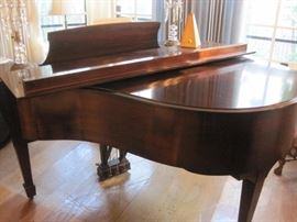 Steinway Grand Piano Model S. But it now for $13,000. 952-261-6461 to view.