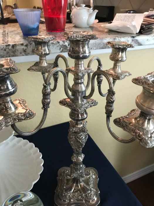 Reed and Barton Candelabra Pair