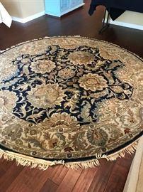 7 ft round rug