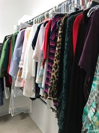 Ladies Clothes and Shoes- 8-12 petite and size 8 shoes