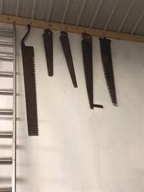Antique saws