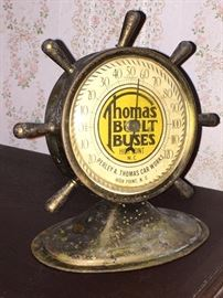 Old Thomas Built Buses Desk Thermometer