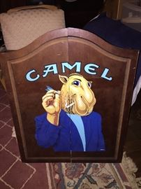 Camel Dart Board