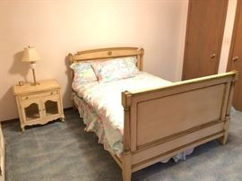 Bedroom Frame and Nightstand