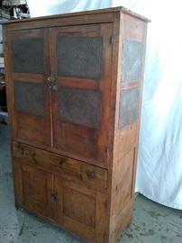 Antique Pie Cupboard! Very nice!