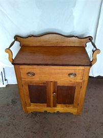 Antique dry sink/wash stand