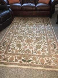 Rectangular rug
