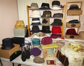 Selma's hall collection!  Vintage & modern purses, shoes, accessories, etc.