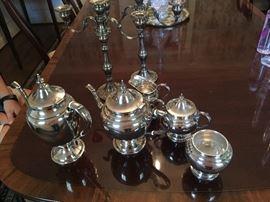 5-piece Gorham Sterling Coffee & Tea Set