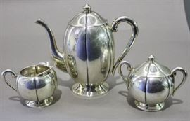 Sanborn Sterling Coffe Set