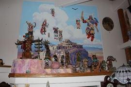 Kachina doll room