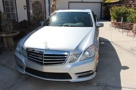 Mercedes E350 2013 with 39k miles only