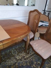 DINING ROOM TABLE-THOMASVILLE