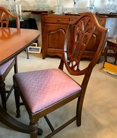 Shield  Back Chair