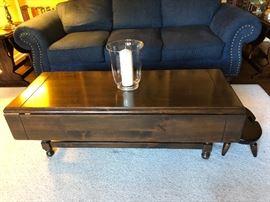 Ethan Allen drop leaf coffee table