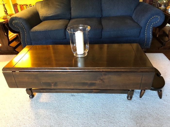 Ethan Allen drop leaf coffee table