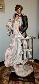Original limited edition large Giuseppe Armani figurines. Florence sculture d'arte.
