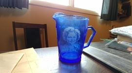 Shirley Temple cream pitcher