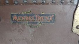 Traveling steamer trunk from early 1900's